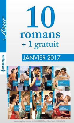 10 romans Azur + 1 gratuit (nº3785 à 3794 - Janvier 2017)