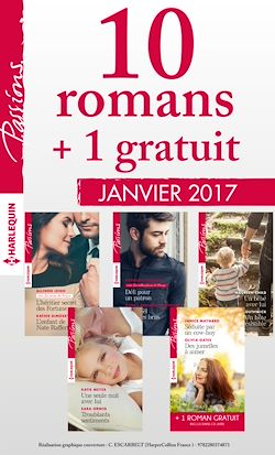 10 romans Passions + 1 gratuit (nº635 à 639 - janvier 2017)
