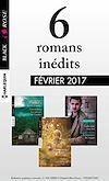 6 romans Black Rose (nº418 à 420 - Février 2017)