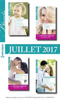 8 romans Blanche + 2 gratuits (n°1322 à 1325 - Juillet 2017)