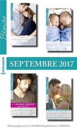 8 romans Blanche + 1 gratuit (n°1330 à 1333 - Septembre 2017)
