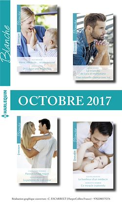 8 Romans Blanche N°1334 à N°1337 - Octobre 2017