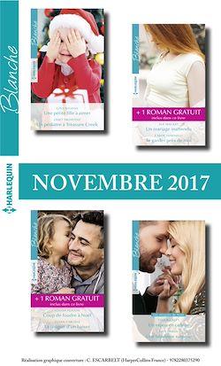 8 romans Blanche + 2 gratuits (nº1338 à 134 - Novembre 2017)