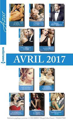 10 romans Azur + 1 gratuit (nº3815 à 3824 - Avril 2017)