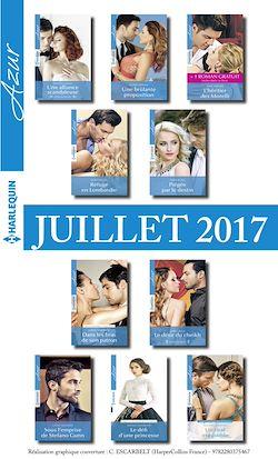 10 romans Azur + 1 gratuit (nº3845 à 3854 - Juillet 2017)
