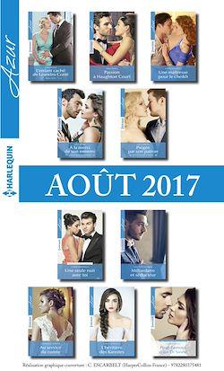 10 romans Azur + 1 gratuit (nº3855 à 3864 - Aout 2017)