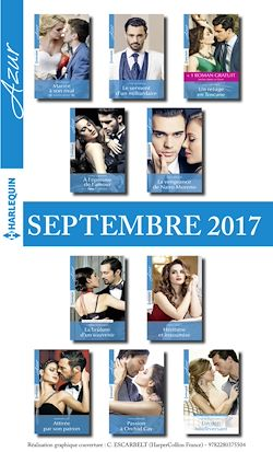 10 romans Azur + 1 gratuit (nº3865 à 3874 - Septembre 2017)