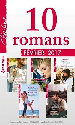 10 romans Passions (nº640 à 644 - Février 2017)