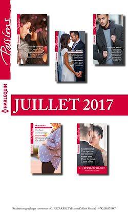 10 romans Passions + 1 gratuit (nº665 à 669 - Juillet 2017)