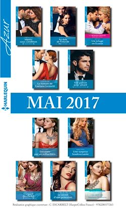 10 romans Azur + 1 gratuit (nº3825 à 3834 - Mai 2017)