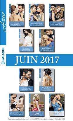 10 romans Azur + 1 gratuit (nº3835 à 3844 - juin 2017)