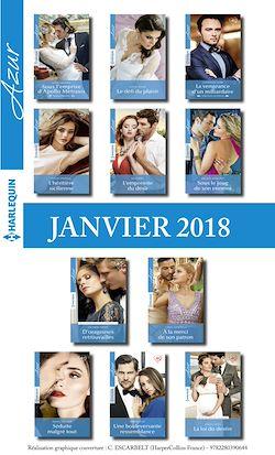 11 romans Azur + 1 gratuit (nº3905 à 3915 - Janvier 2018)