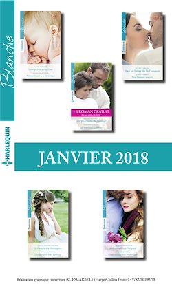10 romans Blanche + 1 gratuit (Janvier 2018 nº1346 à 1350)