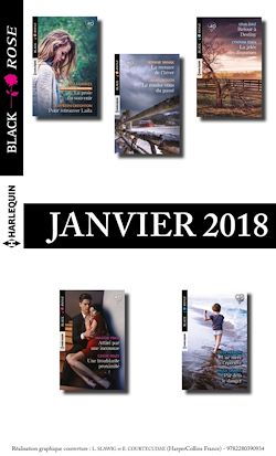 10 romans Black Rose (nº458 à 462 - Janvier 2018)