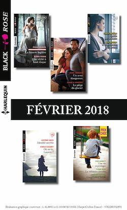 11 romans Black Rose (n° 463 à 466 - février 2018)