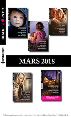 10 romans Black Rose + 1 gratuit (nº467 à 471 - Mars 2018)