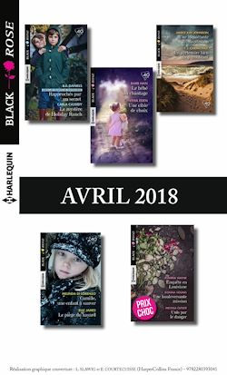 11 romans Black Rose (nº472 à 474 - Avril 2018)