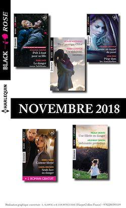 10 romans Black Rose + 1 gratuit (nº504 à 508 - Novembre 2018)