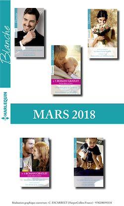 10 romans Blanche + 2 gratuits (n°1356 à 1360 - Mars 2018)