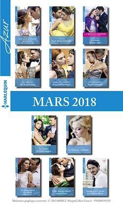 11 romans Azur + 1 gratuit (nº3927 à 3937 - Mars 2018)