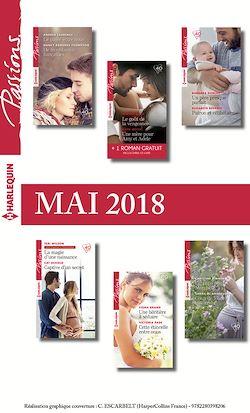 12 romans Passions + 1 gratuit (nº719 à nº724 - Mai 2018)