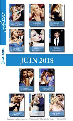 11 romans Azur + 1 gratuit (nº3960 à 3970 - Juin 2018)