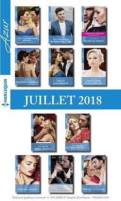 11 romans Azur + 1 gratuit (nº3971 à 3981 - Juillet 2018)