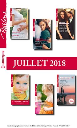 12 romans Passions + 1 gratuit (nº731 à 736 - Juillet 2018)