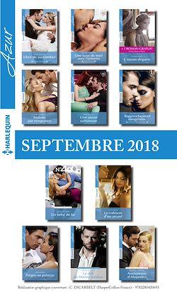 11 romans Azur + 1 gratuit (nº3993 à 4003 - Septembre 2018)