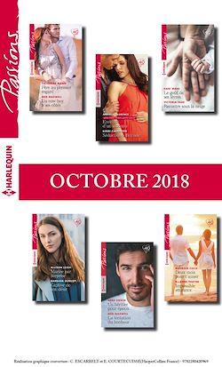 12 romans Passions (nº749 à 754 - Octobre 2018)