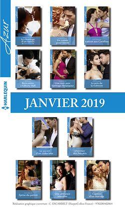11 romans Azur + 1 gratuit (n°4037 à 4047 - Janvier 2019)