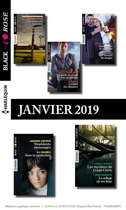 10 romans Black Rose (n°514 à 518 - Janvier 2019)