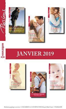 12 romans Passions + 1 gratuit (n°767 à 772 - Janvier 2019)