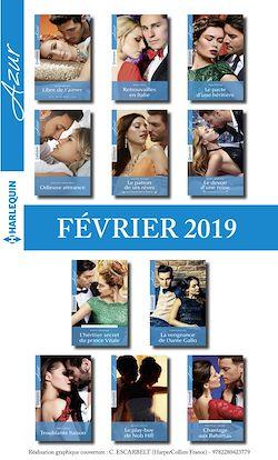11 romans Azur (n° 4048 à 4058 - Février 2019)