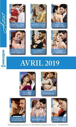 11 romans Azur + 1 gratuit (n°4070 à 4080 - Avril 2019)