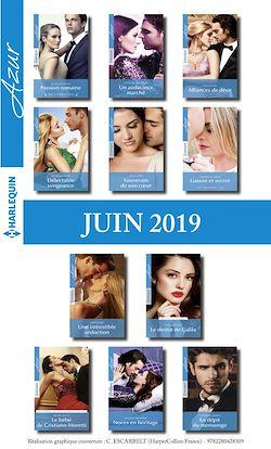 11 romans Azur + 1 gratuit (n°4092 à 4102 - Juin 2019)