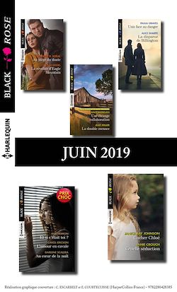 11 romans Black Rose (n°537 à 540 - Juin 2019)