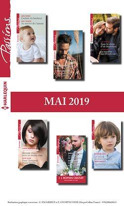 12 romans Passions + 1 gratuit (n°791 à 796 - Mai 2019)