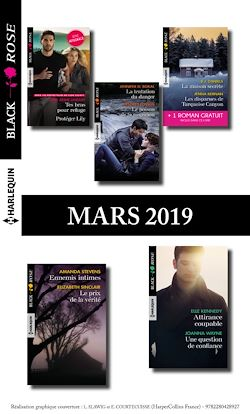 10 romans Black Rose + 1 gratuit (n°523 à 527 - Mars 2019)