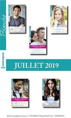 10 romans Blanche + 2 gratuits (n°1436 à 1440 - Juillet 2019)