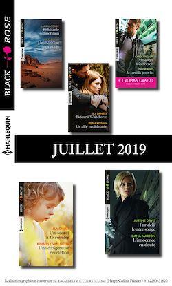10 romans Black Rose + 1 gratuit (n°541 à 545 - Juillet 2019)