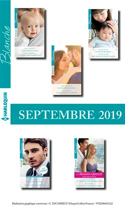 10 romans Blanche + 1 gratuit (n°1446 à 1450 - Septembre 2019)