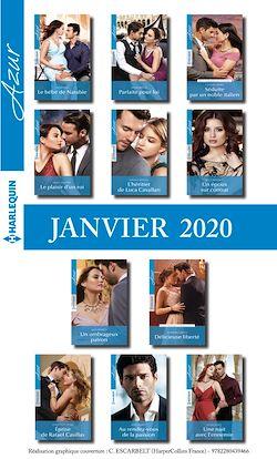 Pack mensuel Azur : 11 romans + 1 gratuit (Janvier 2020)