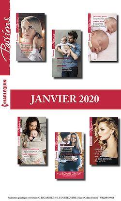 Pack mensuel Passions : 12 romans + 1 gratuit (Janvier 2020)