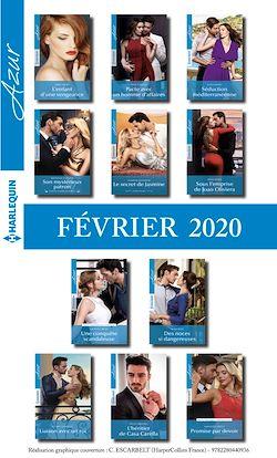 Pack mensuel Azur : 11 romans (Février 2020)