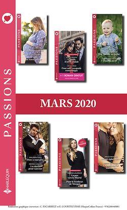 Pack mensuel Passions : 12 romans + 1 gratuit (Mars 2020)