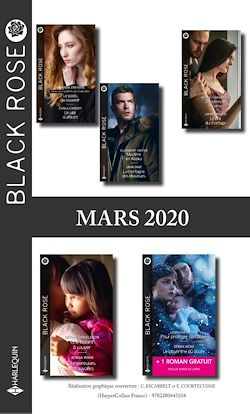 Pack mensuel Black Rose : 10 romans + 1 gratuit (Mars 2020)