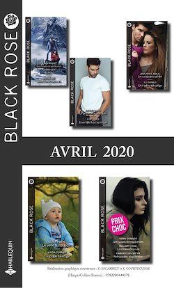 Pack mensuel Black Rose : 11 romans (Avril 2020)