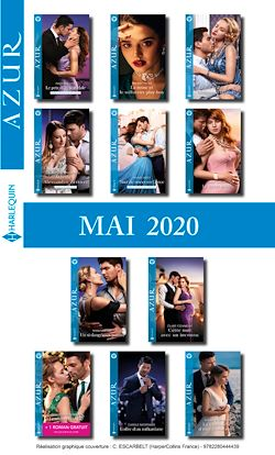 Pack mensuel Azur : 11 romans + 1 gratuit (Mai 2020)