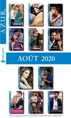 Pack mensuel Azur : 11 romans + 1 gratuit (Août 2020)